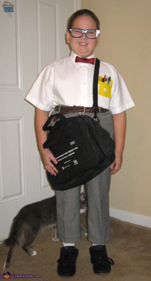 Nerd - Homemade costumes for boys