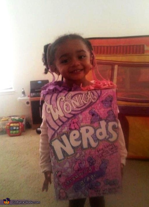Nerds Candy Costume