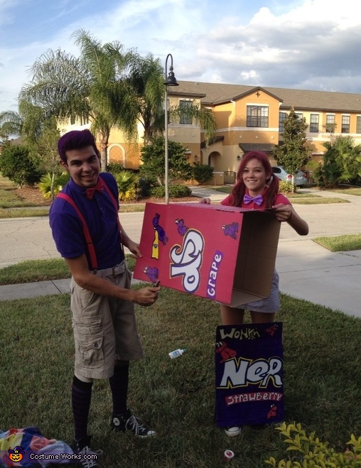 Nerd's Candy Couples Costume