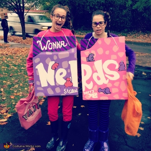 Nerds Candy Boxes Costume
