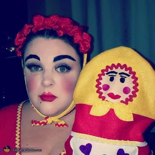 Nesting Dolls Homemade Costume