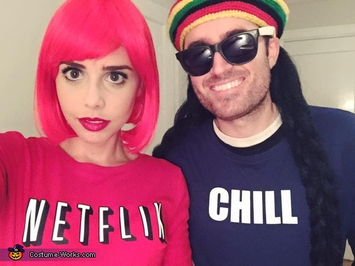 81cdddc17 Netflix and Chill Couple Costume