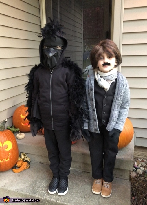 Nevermore: Edgar Allen Poe and the Raven Costume
