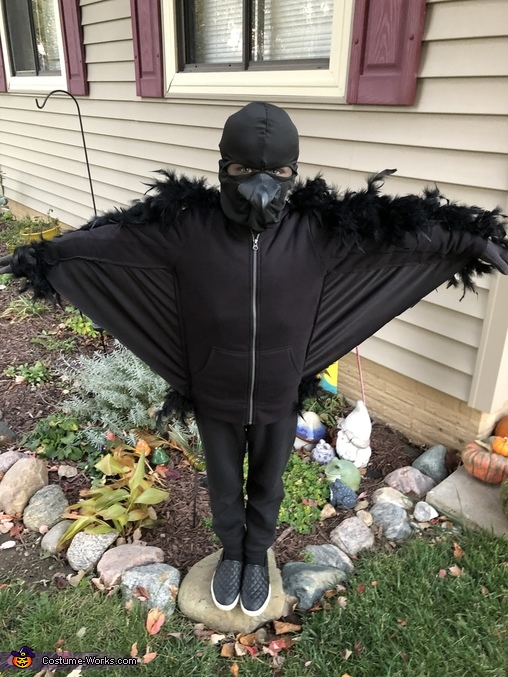Wings, Nevermore: Edgar Allen Poe and the Raven Costume