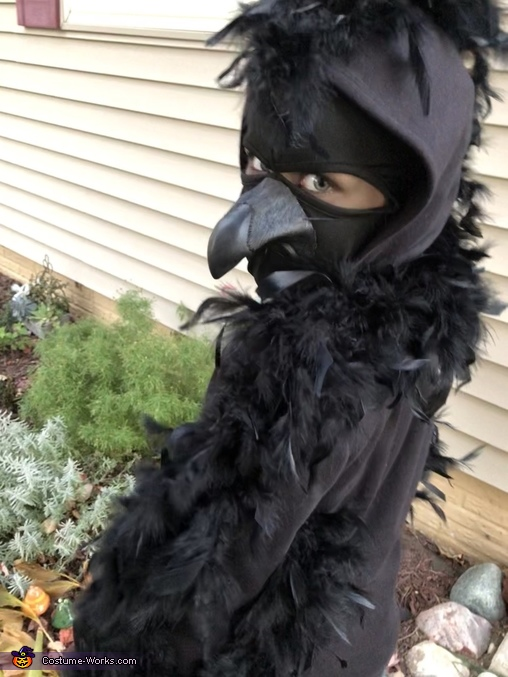 Creepy Raven, Nevermore: Edgar Allen Poe and the Raven Costume