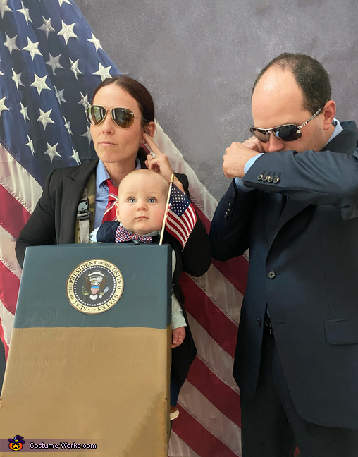 Always need protection from the secret service!, New Candidate for 2020 Costume