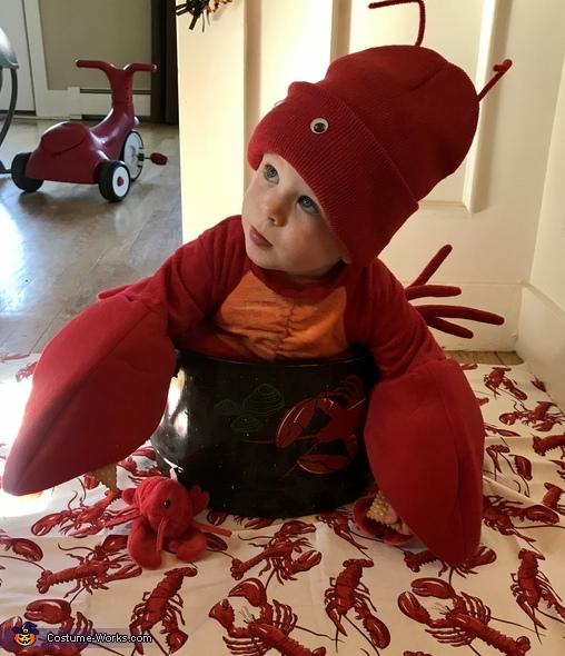 New England Lobstah Costume