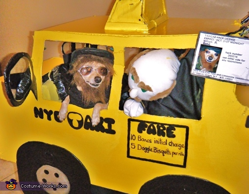 anyone need a taxi, New York City Taxi Driver Costume
