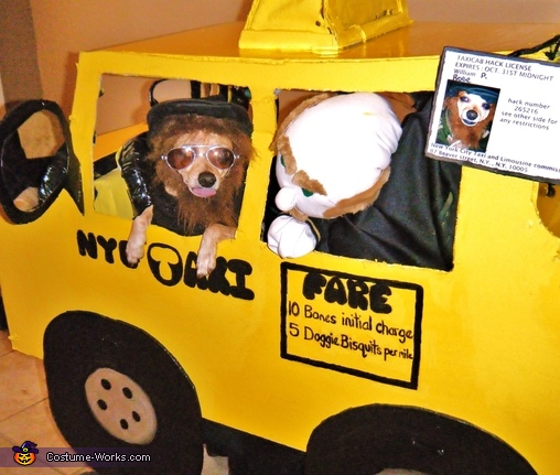love this job, New York City Taxi Driver Costume