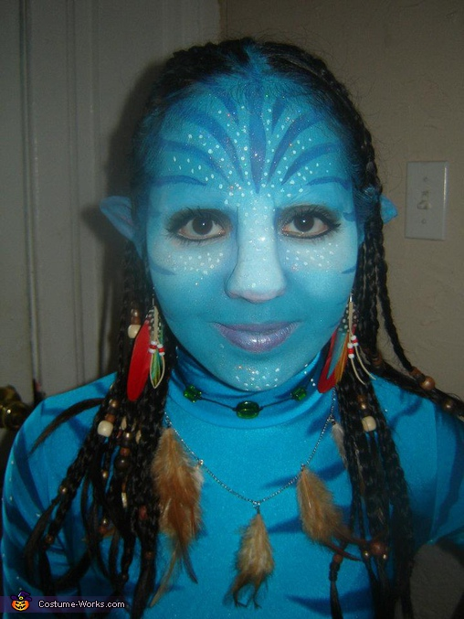 Neytiri.  - Homemade costumes for girls