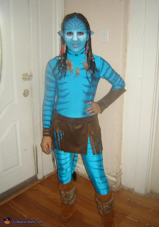 Neytiri - Homemade costumes for girls