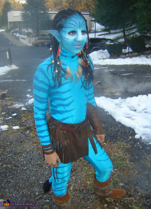Homemade Avatar Neytiri Costume Photo 4 6