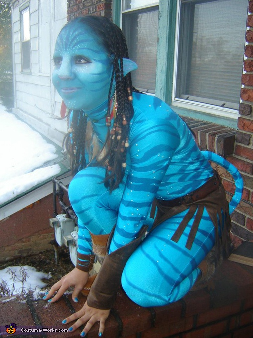 Homemade Avatar Neytiri Costume Photo 5 6
