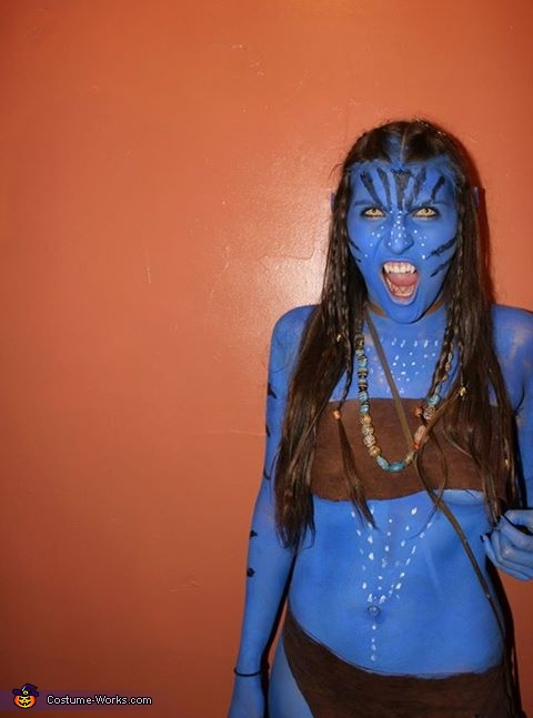 Neytiri and Jake Sully Homemade Costume