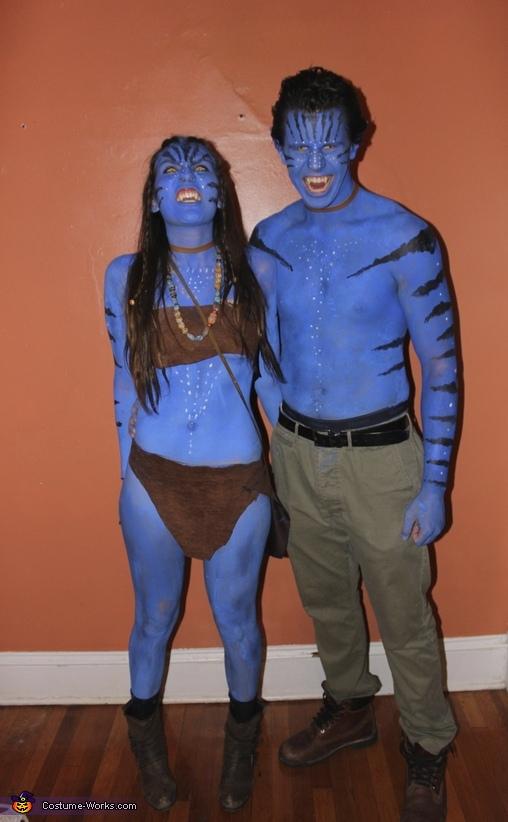 Neytiri and Jake Sully Homemade Costume