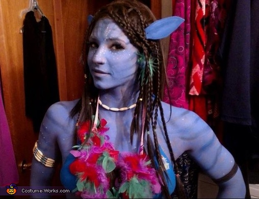 Neytiri from Avatar Homemade Costume