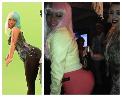 Nicki Minaj & Lil Wayne Homemade Costume