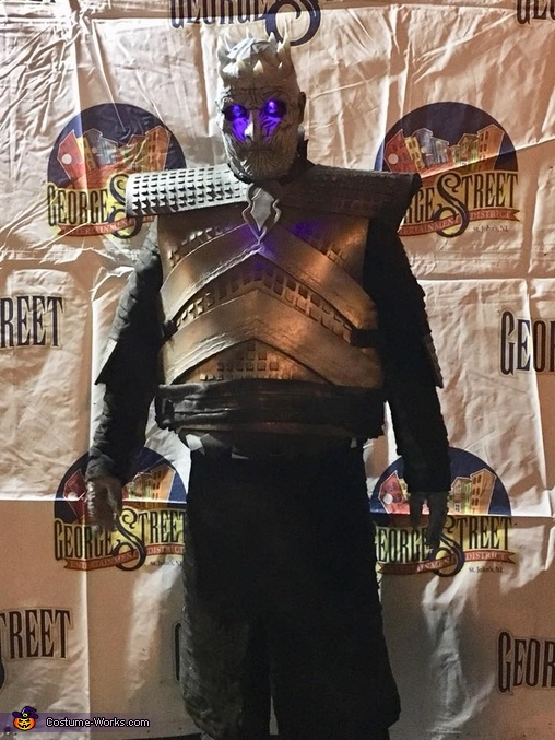 Full size shot of the costume, Night King from Game of Thrones Costume