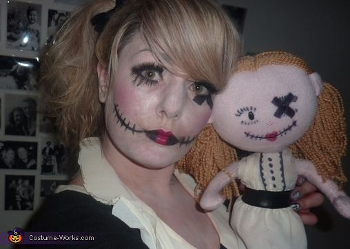 Doll Costume and Makeup