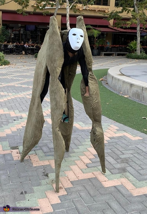 Night Walker Homemade Costume