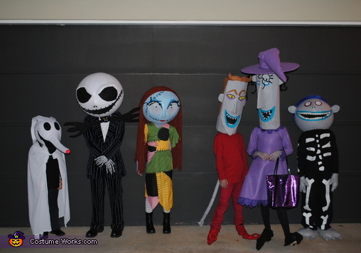 The Nightmare Before Christmas Costume
