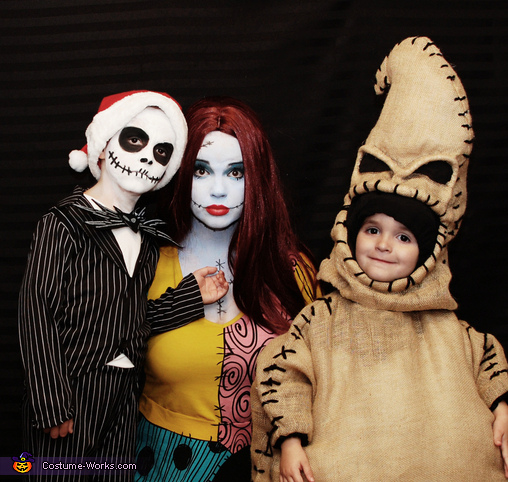 nightmare before christmas family costume - Nightmare Before Christmas Halloween Costume