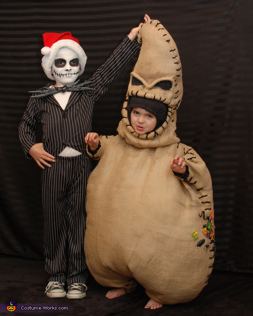 Jack and Oogie, Nightmare Before Christmas Family Costume