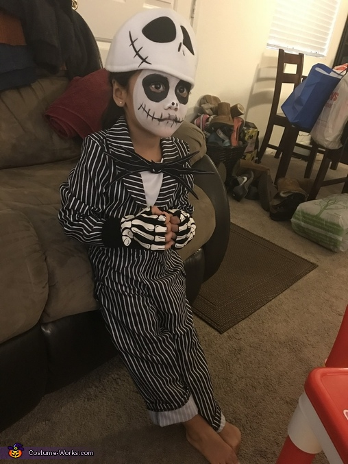 Nightmare Before Christmas Homemade Costume