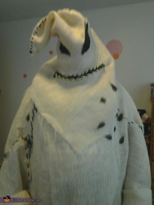 Oogie Boogie 100% homemade, Nightmare Before Christmas Costume