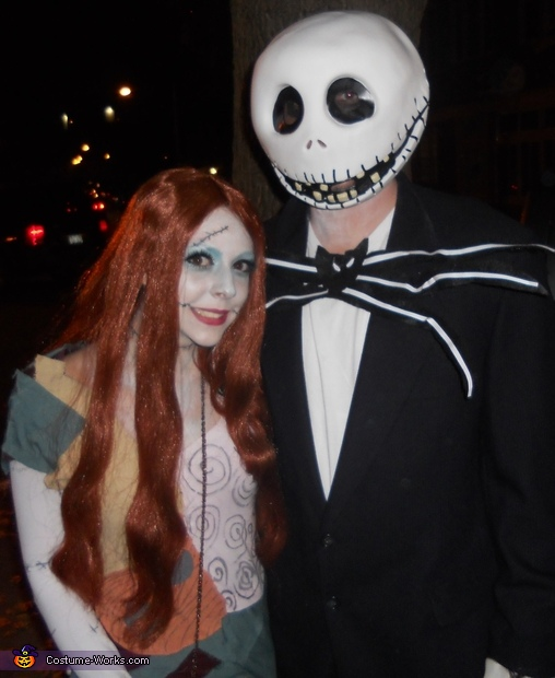 Jack and Sally, Nightmare Before Christmas Costume