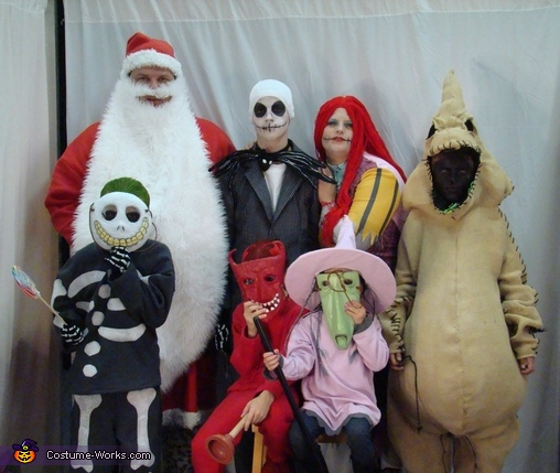 Nightmare Before Christmas Family Costumes