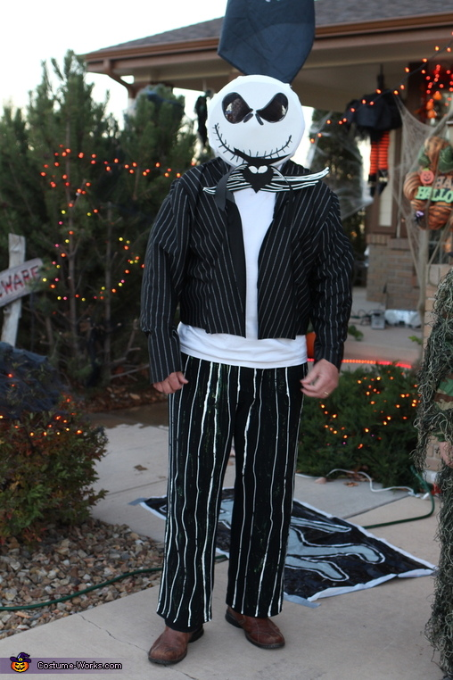 Jack Skellington, Sr., Nightmare Before Christmas Family Style Costume