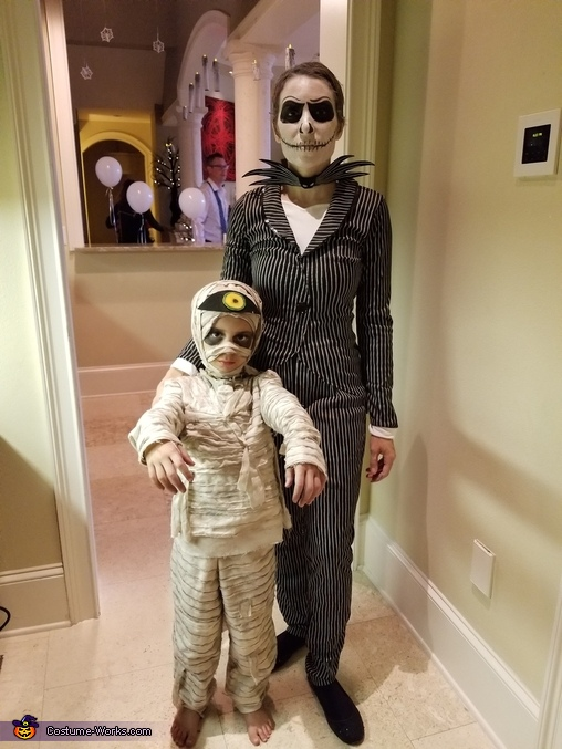 Nightmare Before Christmas Family Homemade Costume