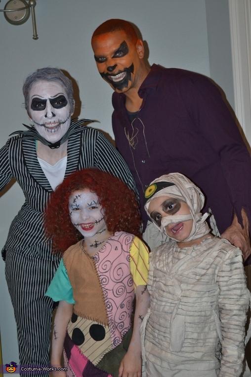 Nightmare Before Christmas Family Costume