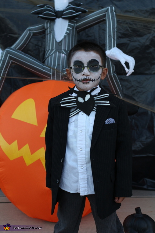 Jack Skellington, Jr., Nightmare Before Christmas Family Costume