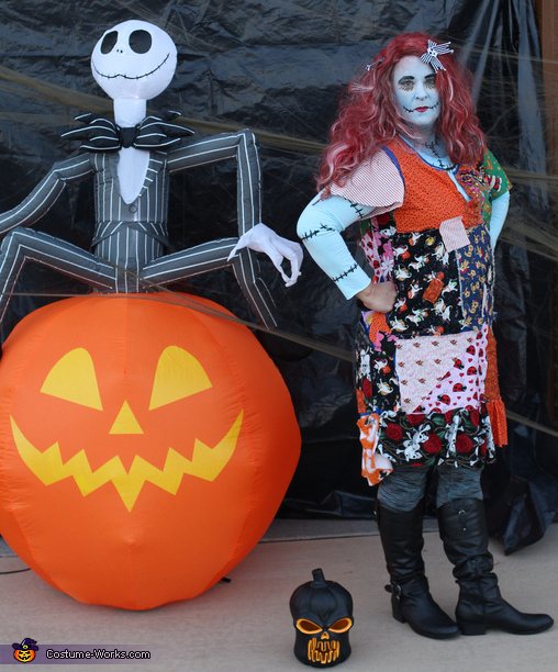 Momma Sally!, Nightmare Before Christmas Family Costume