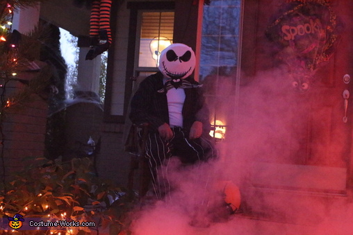 Ready to hand out candy!, Nightmare Before Christmas Family Costume