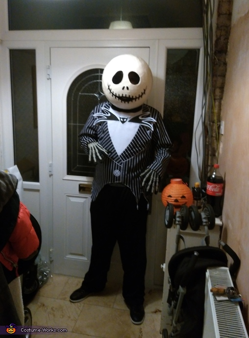 My partner as Jack skellington, Nightmare Before Christmas Jack and Sally Costume