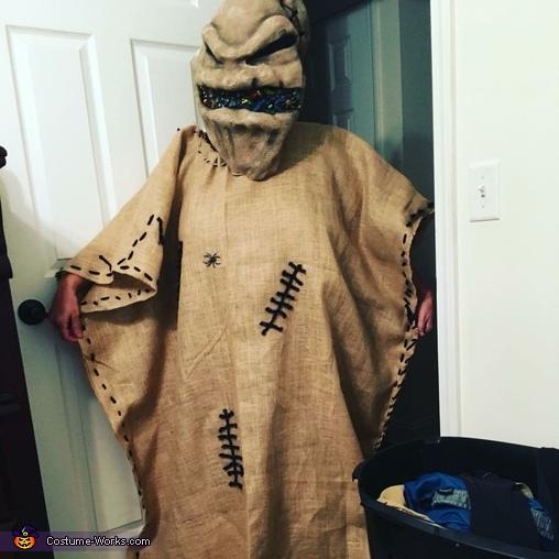 Nightmare Before Christmas Oogie Boogie Man Costume