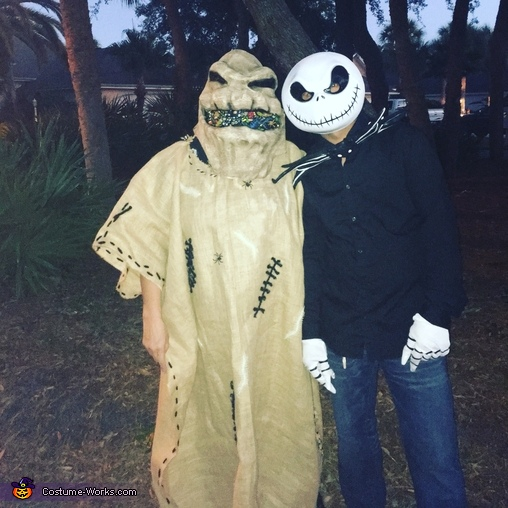 nightmare before christmas oogie boogie man costume - The Nightmare Before Christmas Oogie Boogie
