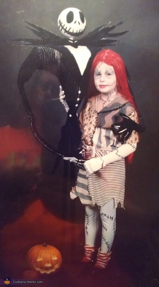 Nightmare Before Christmas Sally and Jack Costume