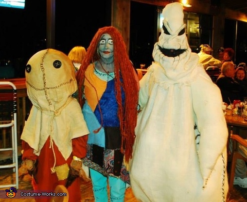 Nightmare Before Trick r Treat Costume