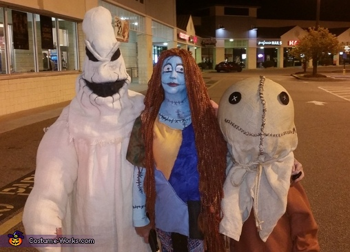 Our parking lot photo., Nightmare Before Trick r Treat Costume
