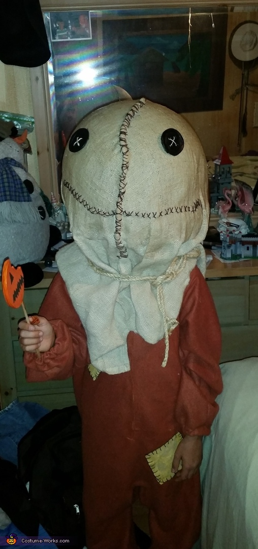 Sam is finished, Nightmare Before Trick r Treat Costume