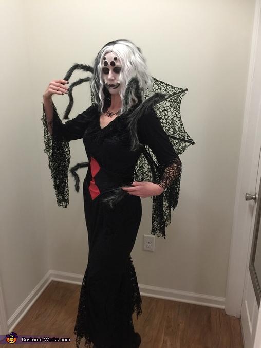 Jessica Stump in her costume titled 'Nightmare Black Widow.' Photo submitted, Nightmare Black Widow Costume