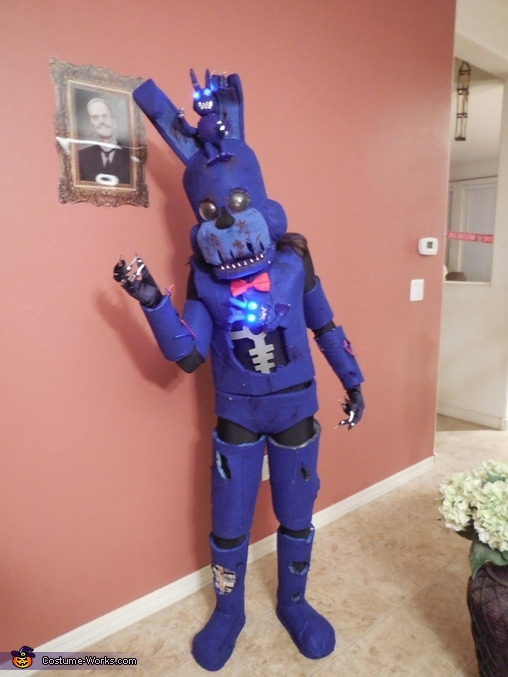 Nightmare Bonnie Homemade Costume