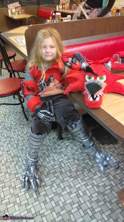 Nightmare Foxy Costume Photo 4 5