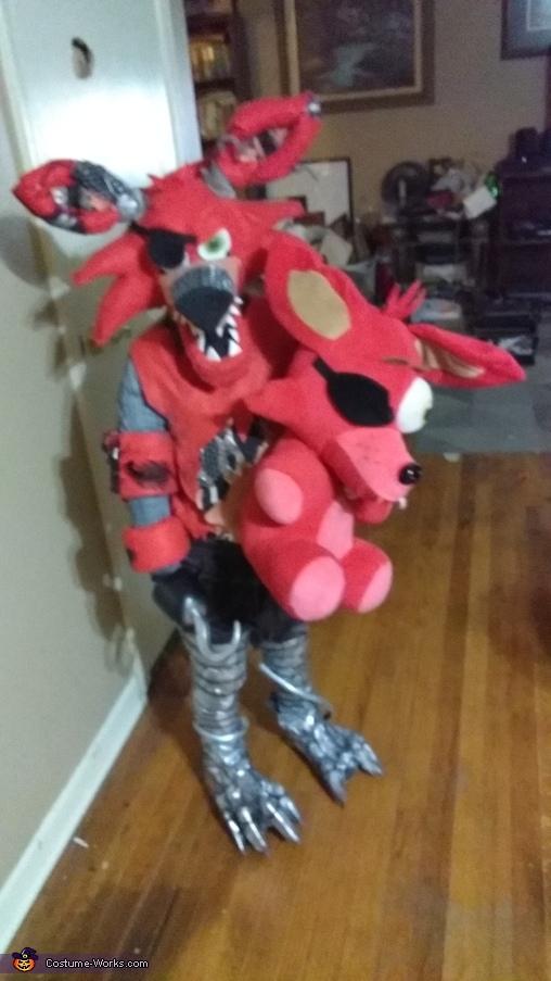 Nightmare Foxy Costume Photo 5 5