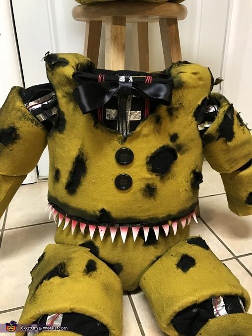 Nightmare Golden Freddy Animatronic Costume - Photo 3/4