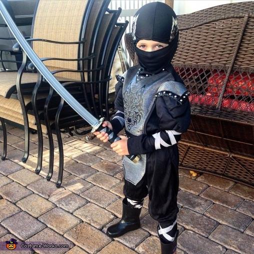 Ninja James Costume
